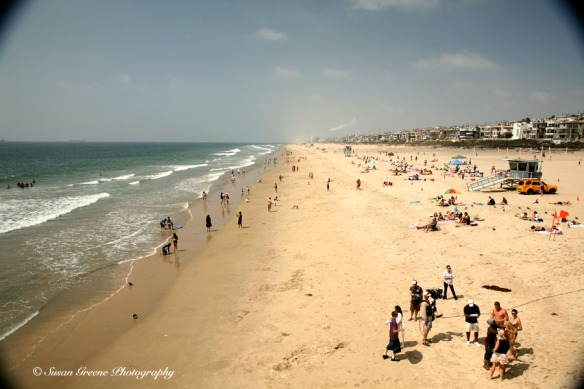 summer day Manhattan Beach