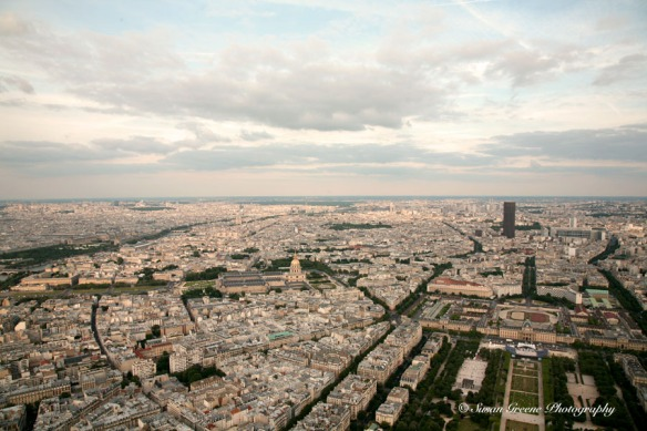 Paris, France from Eiffel Tower