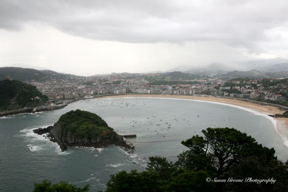 San Sebastian, Spain from Monte Igueldo