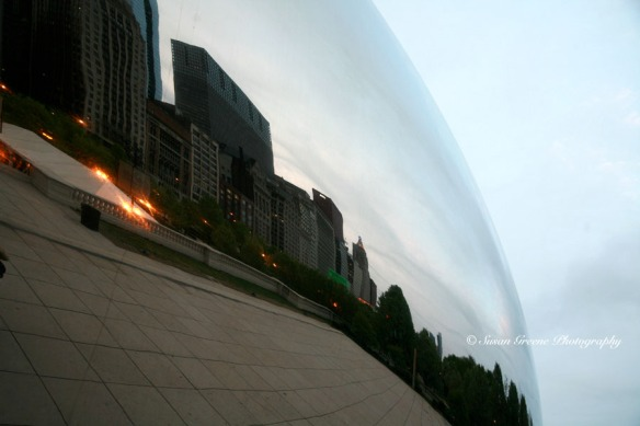 chicago bean and sky