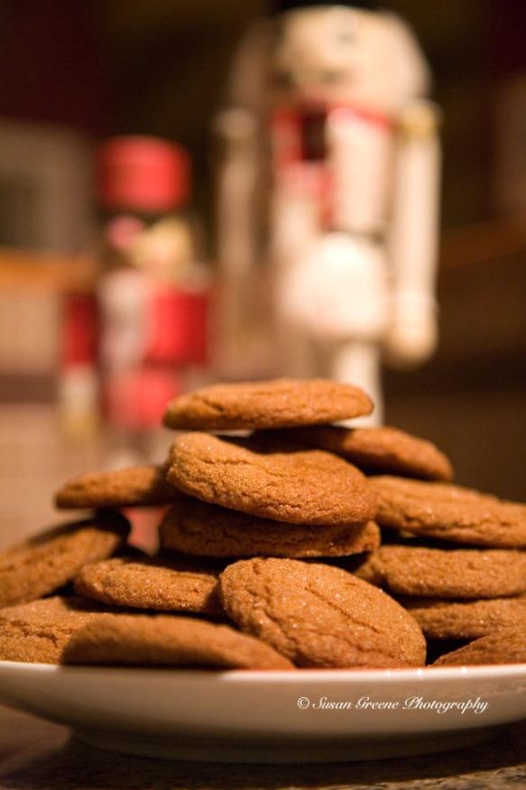 Christmas cookies- Molasses Crinkles
