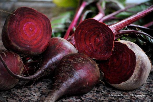 cut beets