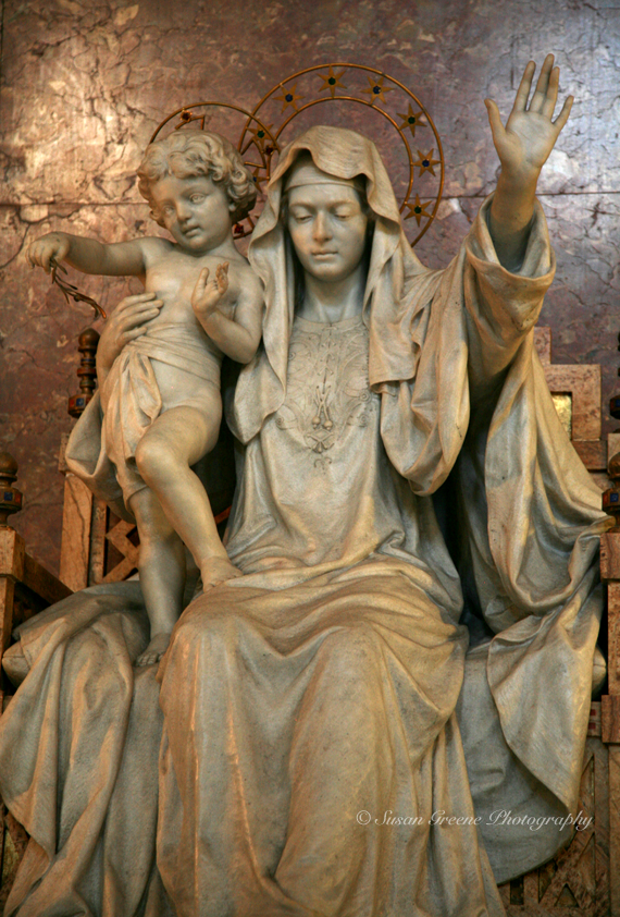 madonna and child iso