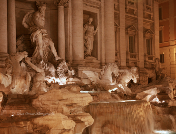 trevi fountain iso