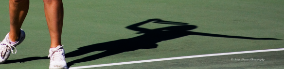 tennis player shadow