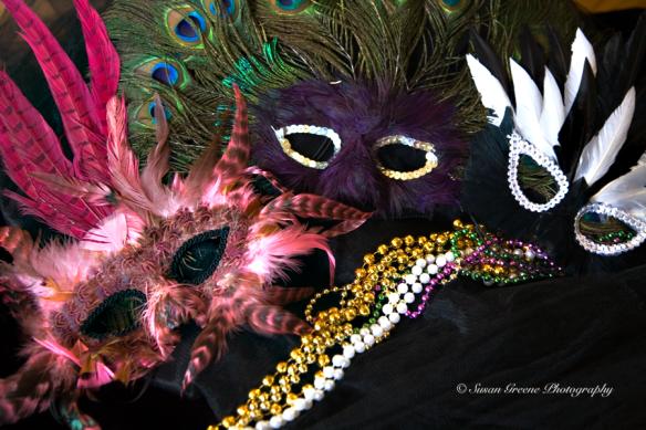 Mardis Gras masks